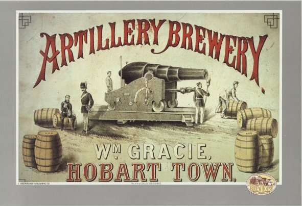 Artillery Brewery logo courtesy of Australian National Library