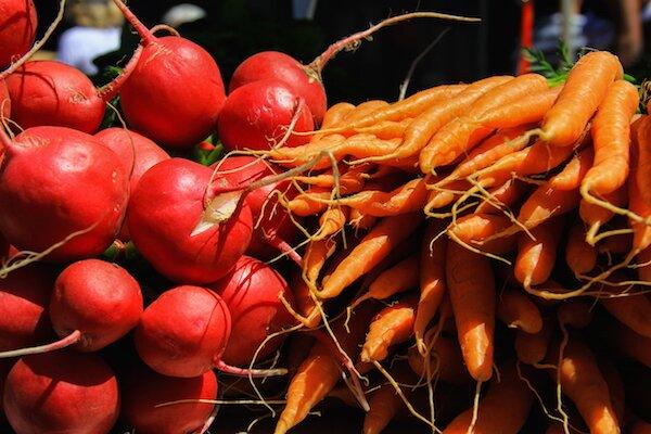 Quality fresh produce at Farm Gate Market