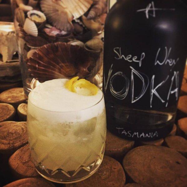 Hartshorn Distillery Vodka Sour