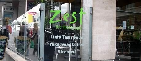 Zest The Library Cafe