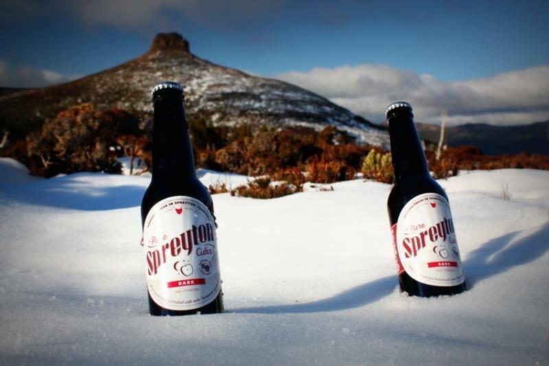 Spreyton Cider Snow