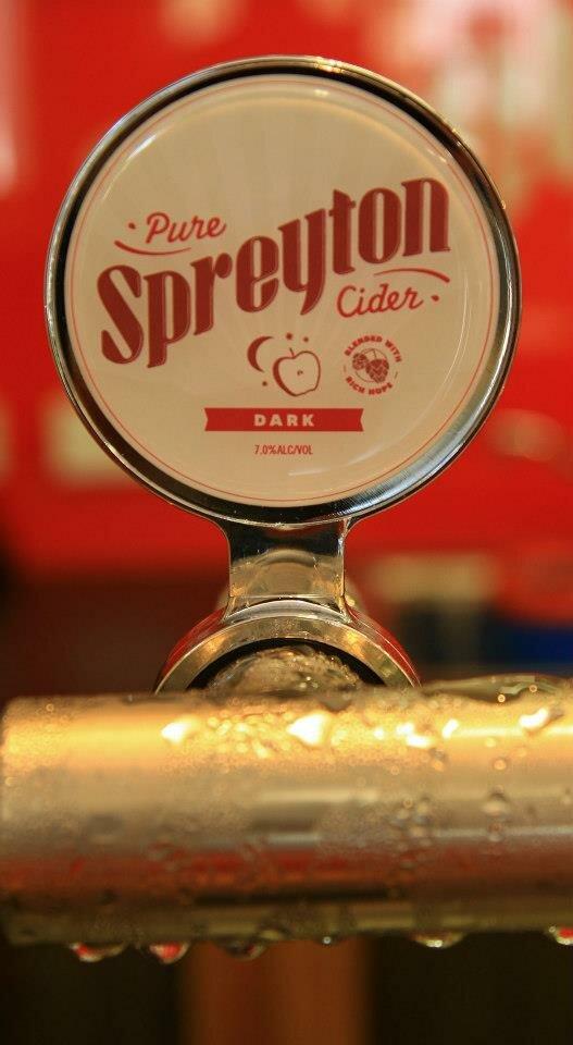 Spreyton Cider taps